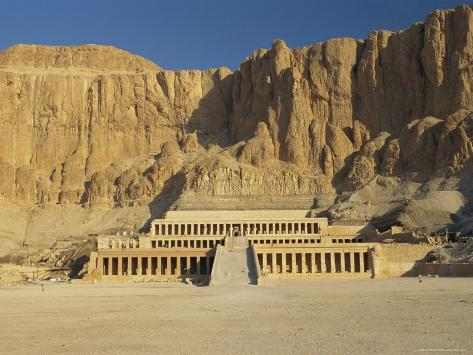 The Temple of Hatsepsut, Valley of the Queens, Thebes, Egypt, Africa Photographic Print