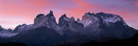 Torres Del Paine, Patagonia, Chile Photographic Print