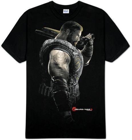 Gears of War - Dom Portrait T-Shirt