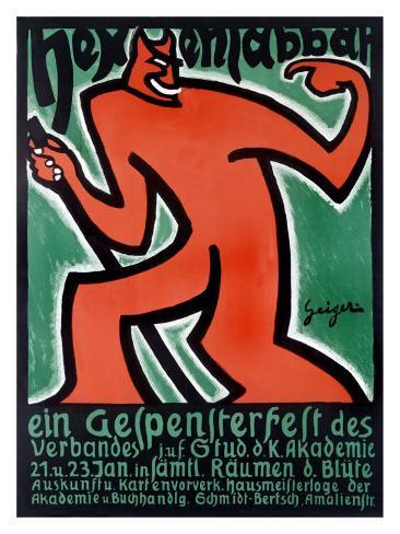 Hexen Labbar Giclee Print