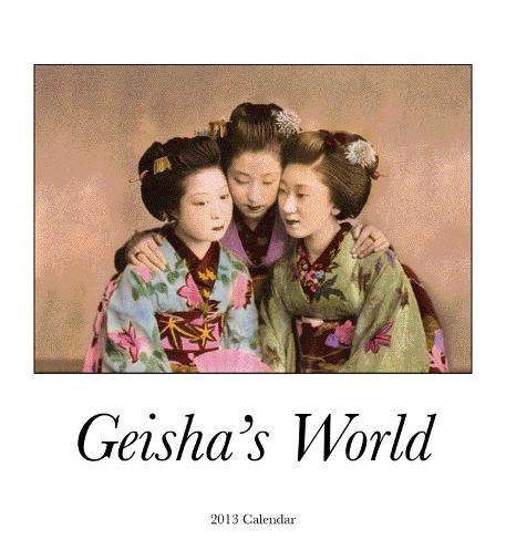 Geisha  - 2013 Easel/Desk Calendar Calendars