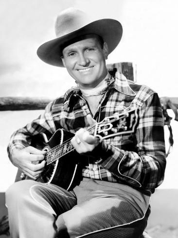 Gene Autry, Late-1940s Photo