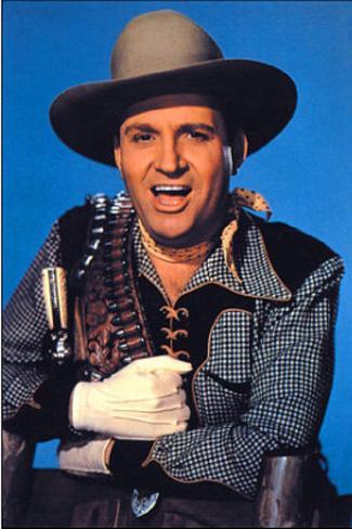 Gene Autry (Singing Cowboy) Movie Postcard Poster Card