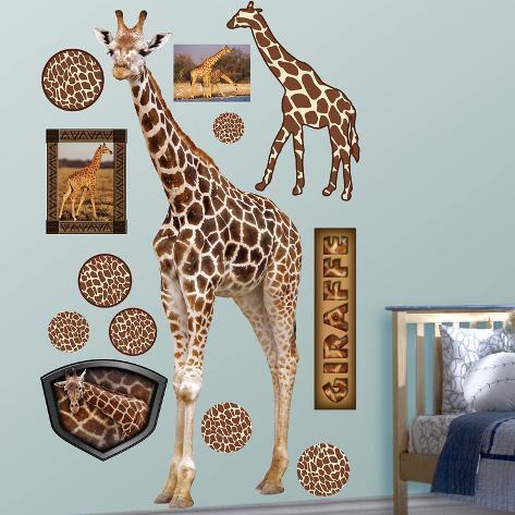 Generic Giraffe Wall Decal
