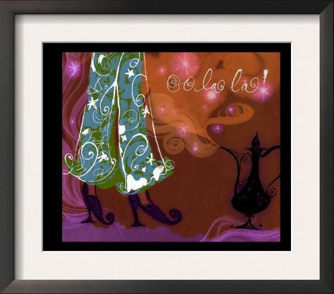 Genie and Lamp Framed Art Print