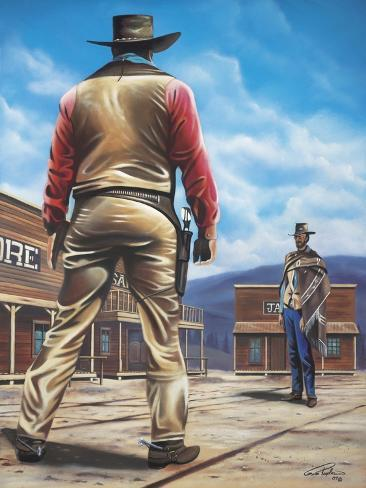 Duel of the Century Giclee Print