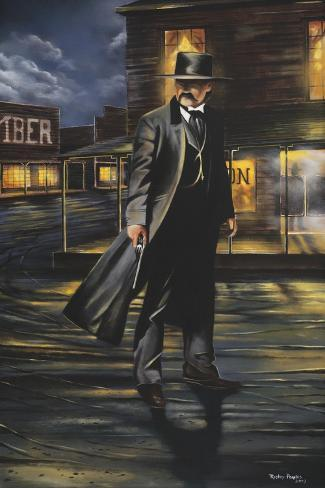 Tombstone Giclee Print