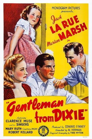 Gentleman from Dixie, 1941 Art Print
