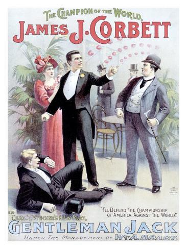 Gentleman Jack Giclee Print