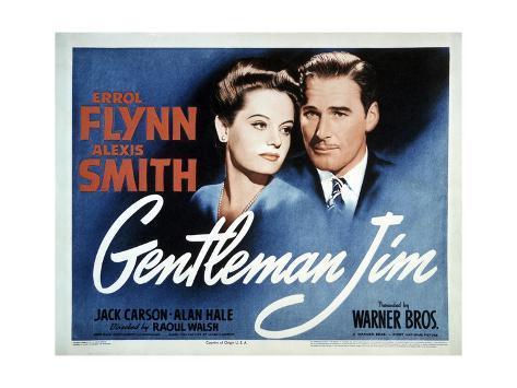 Gentleman Jim Konstprint