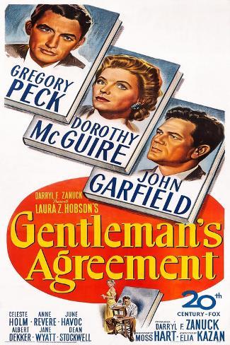 Gentleman's Agreement Art Print