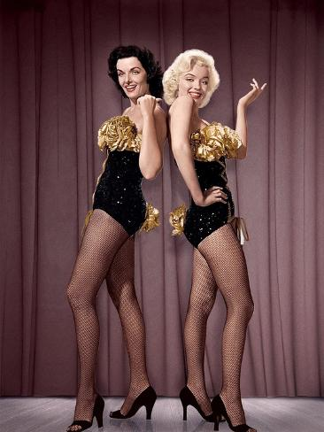Gentlemen Prefer Blondes, 1953 Photographic Print