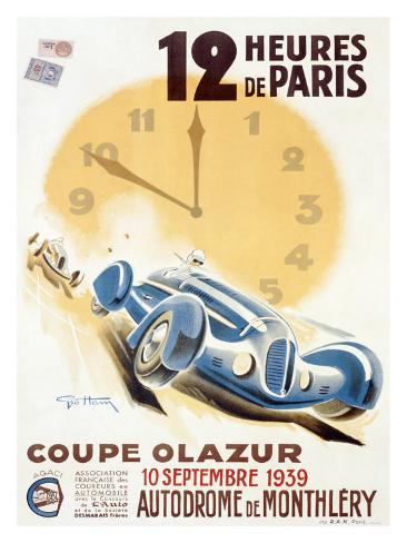Coupe Olazur Giclee Print