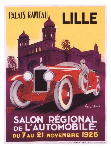 Salo Auto Lille Giclee Print