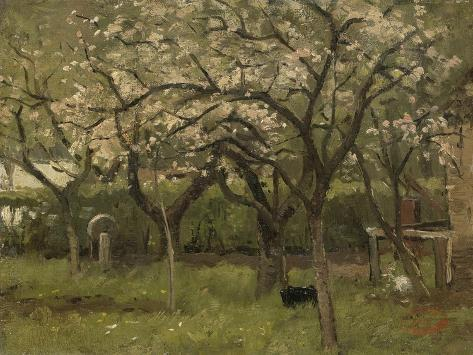 An Orchard in Bloom Art Print