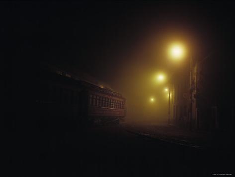 Train at Alausi Station, Ecuador Photographic Print