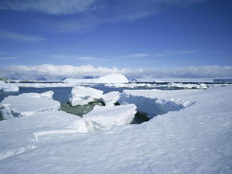 Coastal Landscape, Antarctic Peninsula, Antarctica, Polar Regions Photographic Print