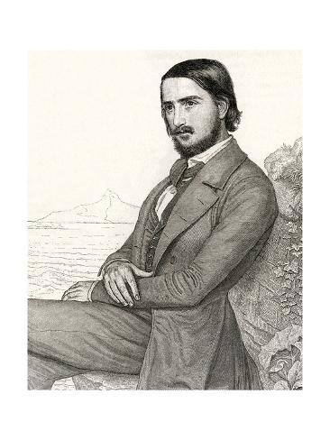 Georg Herwegh, Writer Stampa giclée