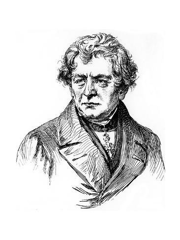 Georg Simon Ohm, 19th Century German Physicist, 1906 Giclee Print