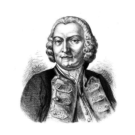 George Anson, Baron Anson (1697-176), English Naval Commander Giclee Print