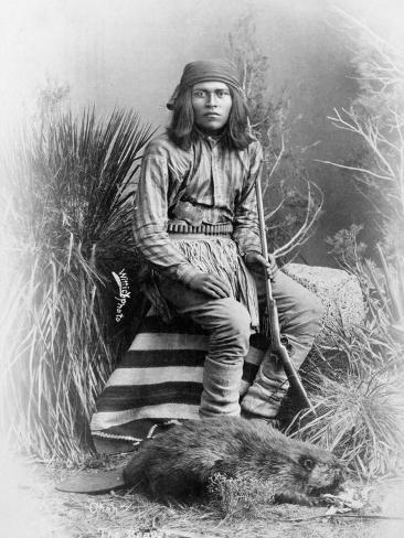 Apache Leader, 1885 Photographic Print