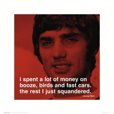 George Best – Money Konstprint