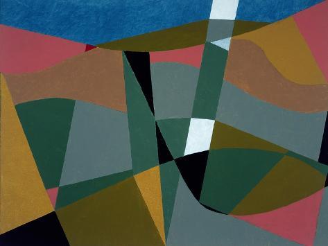 Shafted Landscape, 2001 Stampa giclée