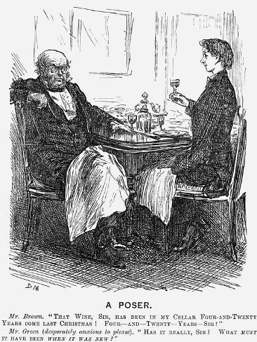 A Poser, 1866 Giclée-vedos