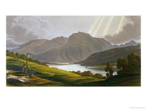 Ben Nevis, Plate XII from