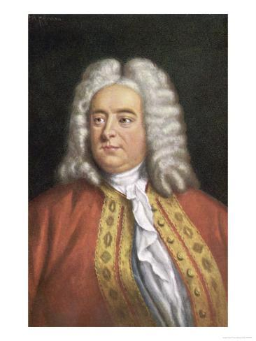 George Frederic Handel Composer Giclee Print