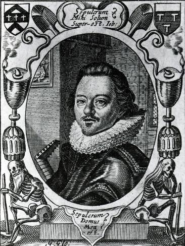 William Austin in the Title Page to His 'Meditations', 1635 Giclee Print