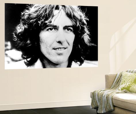 George Harrison Laminated Oversized Art
