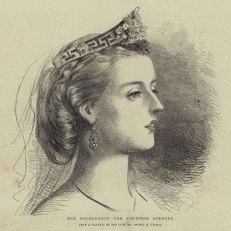 Her Excellency the Countess Spencer Giclee Print