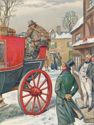 George Loveless (1797-187) in Chains from Dorchester to a Prison, 1934 Giclee Print