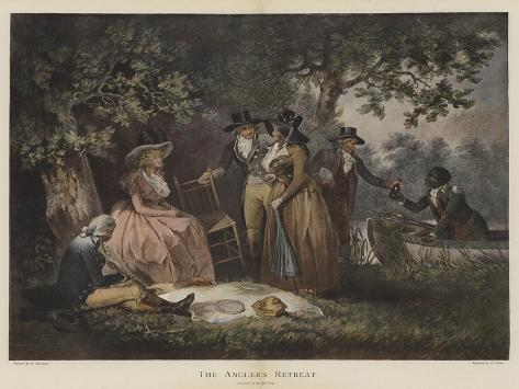 The Angler's Retreat Giclee Print