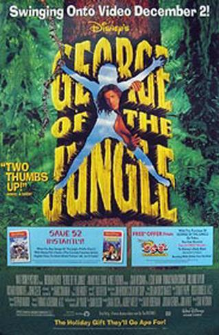 George Of The Jungle Original Poster