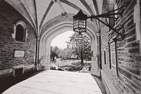 Archway, Blair Hall, Princeton University, NJ Photographic Print