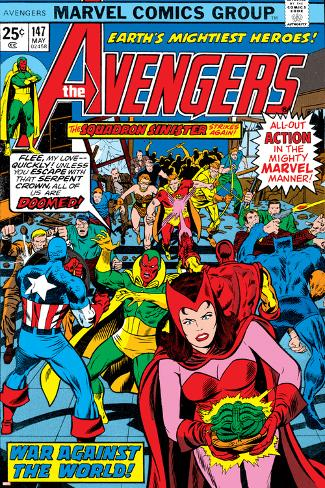 Avengers No.147 Cover: Scarlet Witch Poster