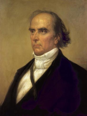 Daniel Webster, 1848 Lámina giclée