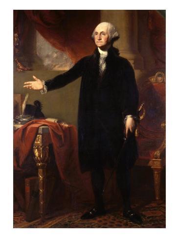 George Washington, 1732-99, 1st President of the United States Giclee Print