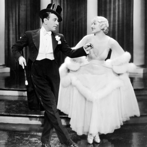 George Raft, Carole Lombard.