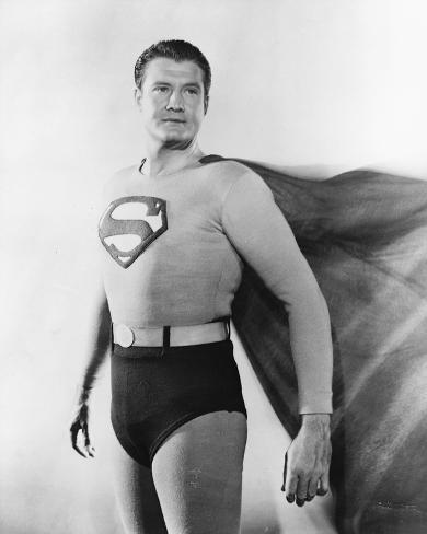 George Reeves, Adventures of Superman (1952) Photo