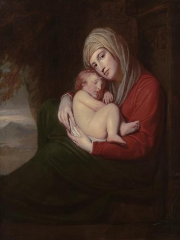 A Mother and Child, 1771 Lámina giclée