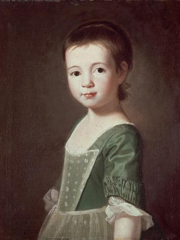Miss Collingwood, C.1767 Lámina giclée