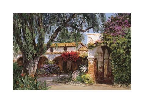 Capistrano Sunlight Giclee Print