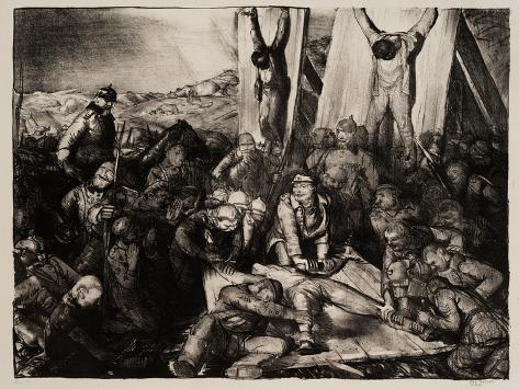 Gott Strafe England, 1918 Stampa giclée