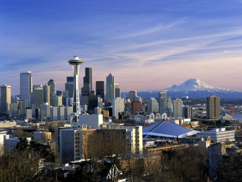 Seattle, Washington Photographic Print