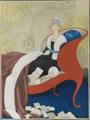Vogue - March 1921 Stampa giclée premium