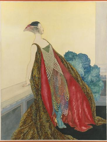 Vogue - May 1921 Stampa giclée premium