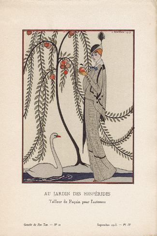 Au Jardin Des Hesperides Art Print